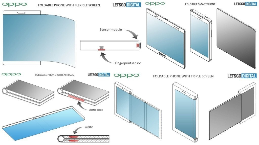 是相關專利曝光 OPPO也加入螢幕可凹折手機設計競爭這篇文章的首圖
