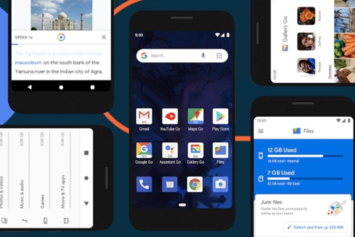 Google宣布推出新版Android Go作業系統 基於Android 10設計 app啟動更快 導入更多AI技術