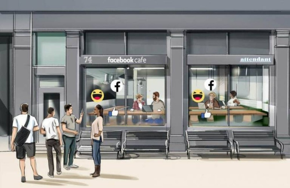 Cafe, Advertising, Coffee, Restaurant, Marketing, , , McDonald's France, , Trend Hunter Inc, Cafe, Building, Metropolitan area, Pedestrian, Architecture, Facade, Street, City, Door