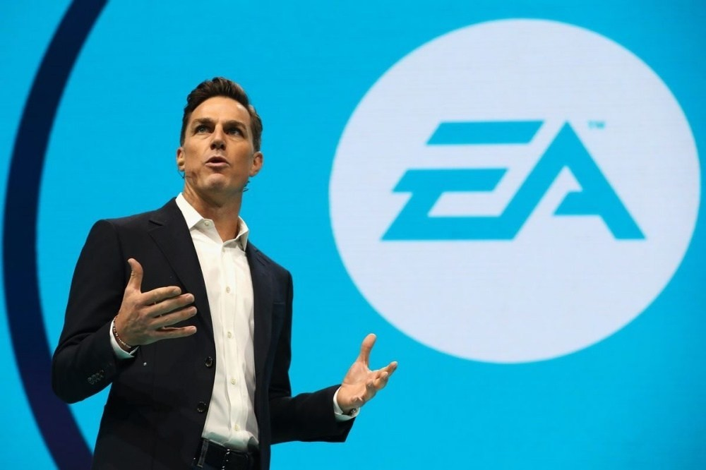 Andrew Wilson, E3 2017, Electronic Arts, , Video Games, Game, , , EA Sports, Chief Executive, ea ceo, Blue, Spokesperson, Azure, Businessperson, Company, Public speaking, Orator, Technology, Gesture, Speech