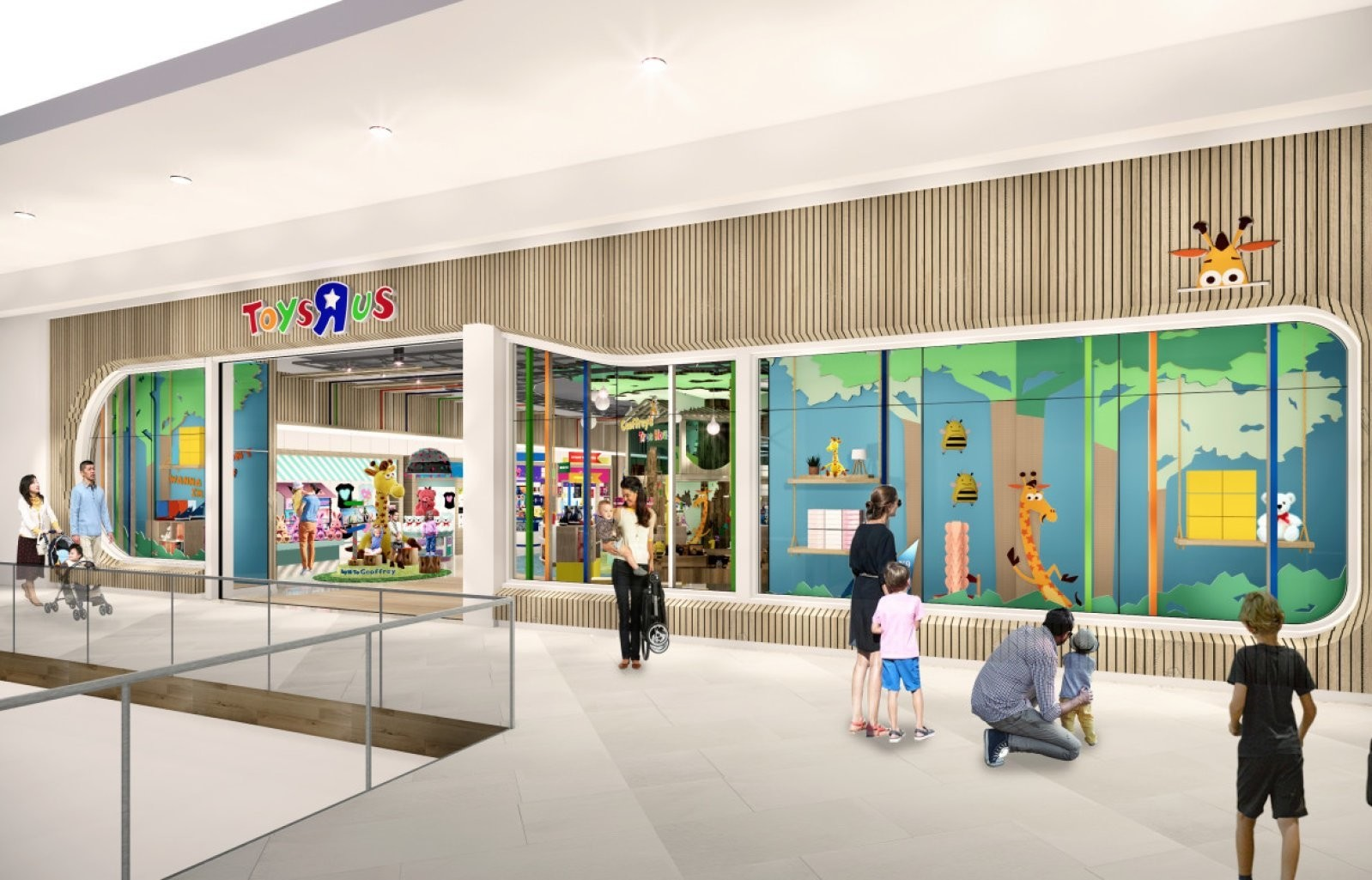 """Toys""""R""""Us, , The Galleria, Retail, , New Jersey, Tru Kids, Shopping Centre, , Chain store, Toys""""R""""Us, Building, Shopping mall, Architecture, Interior design, Retail, Lobby, Facade, Leisure, Mixed-use"""