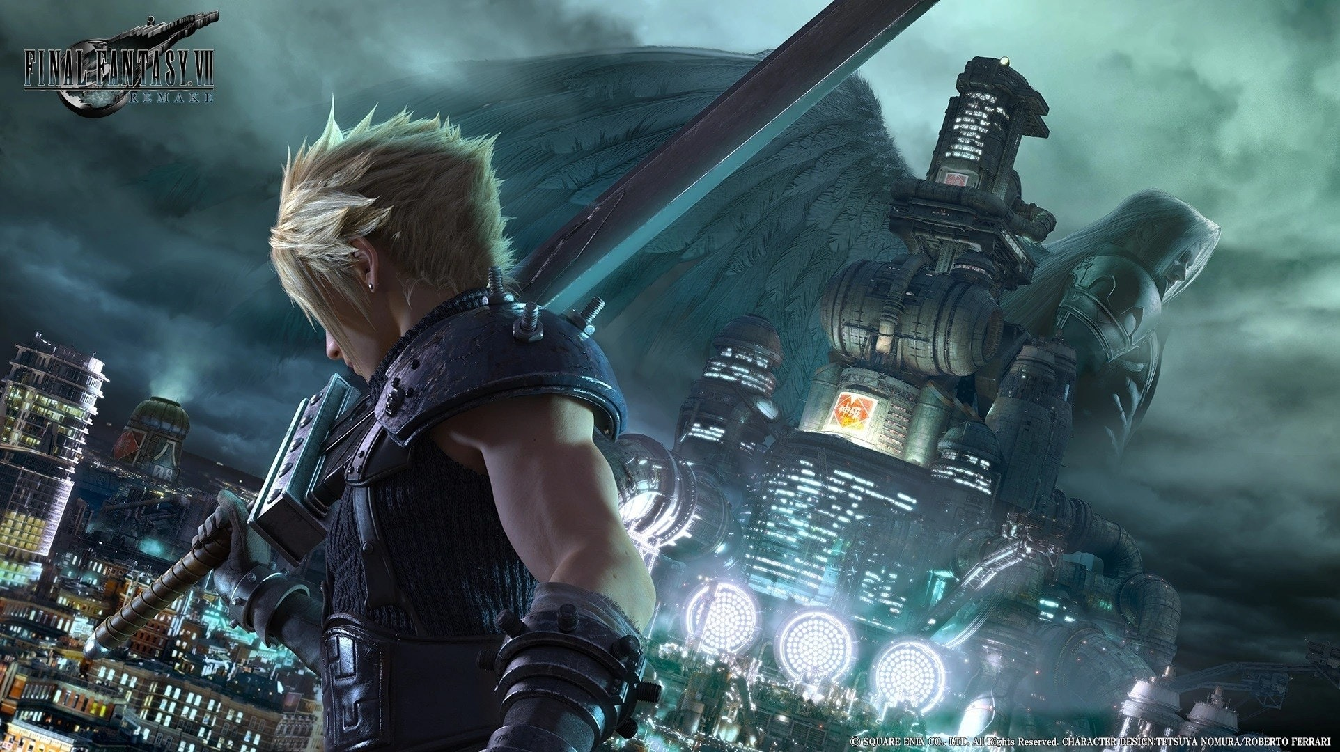 Final Fantasy VII Remake, Final Fantasy VII, 2019 Electronic Entertainment Expo, Video Games, , Square Enix Co., Ltd., Sephiroth, Electronic Entertainment Expo 2018, Tifa Lockhart, Video game remake, final fantasy 7 remake, Action-adventure game, Pc game, Cg artwork, Games, Adventure game, Strategy video game, Digital compositing, Screenshot, Movie, Fictional character