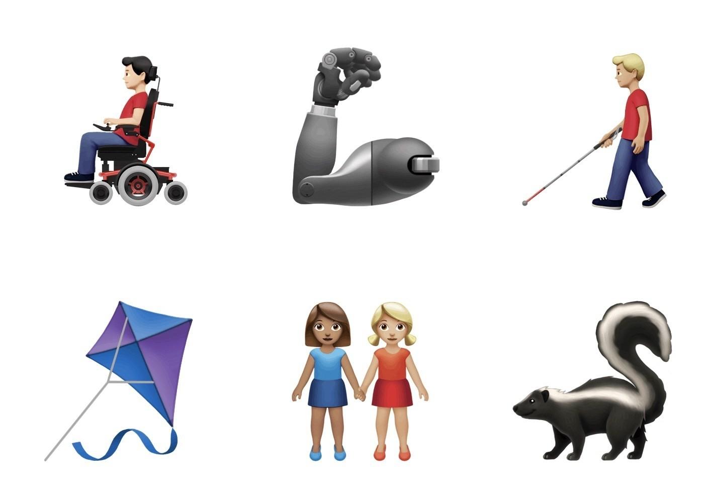 Emoji, Emojipedia, World Emoji Day, Unicode Consortium, iOS, Emoticon, , iOS 13, iPhone, Android Q, nieuwe emojis 2019, Cartoon, Clip art, Figurine, Animation, Illustration, Fictional character, Animal figure, Graphics, Art
