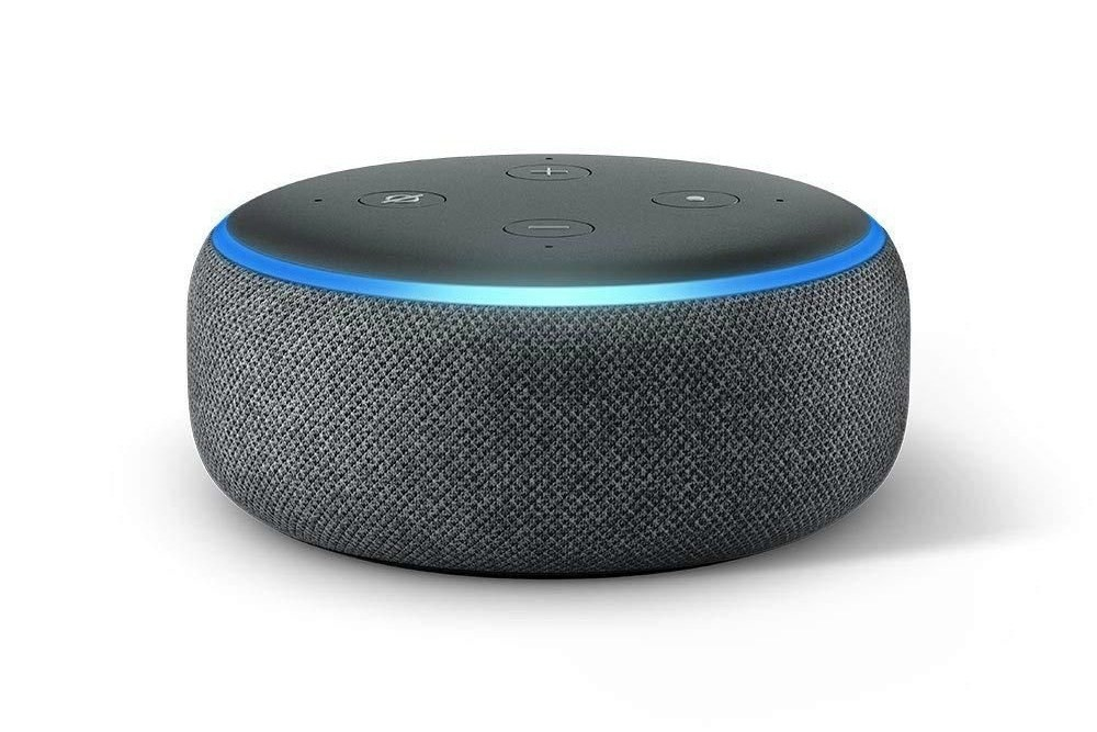Amazon Echo Dot (3rd Gen), Amazon.com, Smart speaker, , FireTV, Amazon Echo Plus, Amazon Prime, Television, Black Friday, Cyber Monday, amazon echo dot 2018, Loudspeaker, Audio equipment, Computer speaker, Technology, Furniture, Sound box, Bean bag chair