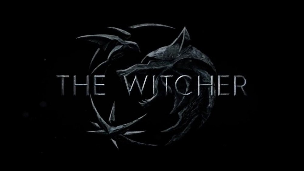 Geralt of Rivia, Video Games, Trailer, Television show, Ciri, The Witcher, San Diego Comic-Con, , Netflix, Film, The Witcher, Black, Darkness, Font, Text, Graphic design, Black-and-white, Illustration, Logo, Monochrome photography, Photography
