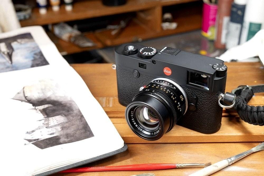 照片中提到了felca、SUMMICA,包含了相機配件、徠卡M10、數碼單反、無反光鏡可換鏡頭相機、相機