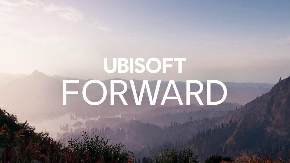 照片中提到了UBISOFT、FORWARD,包含了參觀挪威、育碧、E3、七月、平台遊戲