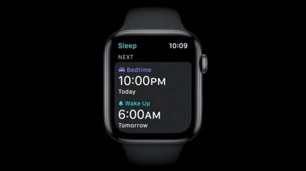 照片中提到了Sleep、10:09、NEXT,跟Bleep.com有關,包含了watchOS、蘋果全球開發者大會、watchOS、蘋果手錶、蘋果