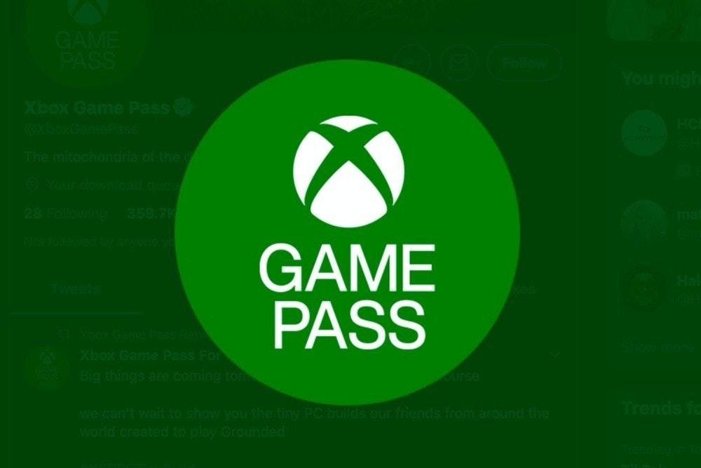 照片中提到了GAME、PASS、You migh,跟的Xbox有關,包含了凹槽音樂、巴黎、商標、牌、產品設計