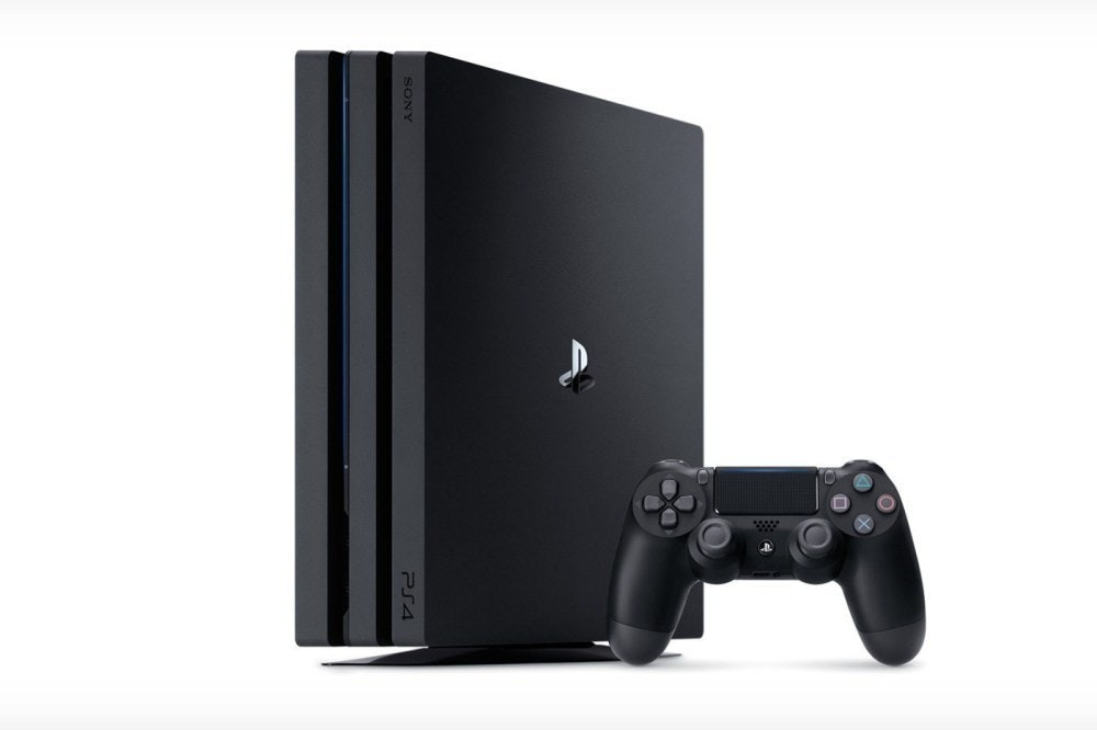 照片中提到了SONY、PS4,包含了PlayStation 4專業版、PlayStation 4專業版、索尼PlayStation 4、索尼PlayStation 4 Slim、PlayStation VR