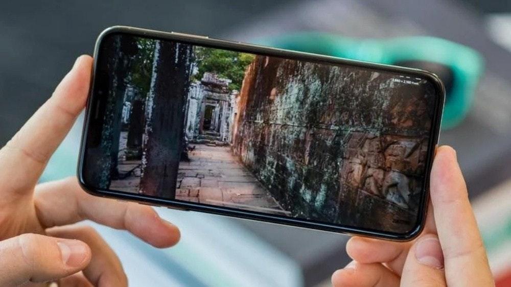 """照片中提到了""""140-200M,包含了iPhone視頻、iPhone X、iPhone 11、蘋果iPhone XS Max、iPhone 6"""