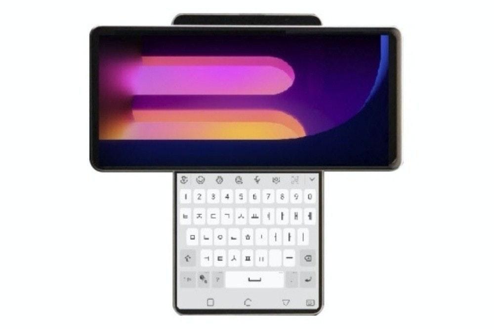 照片中提到了4.,包含了移動電話、LG G7 ThinQ、LG、手機、蜂窩網絡