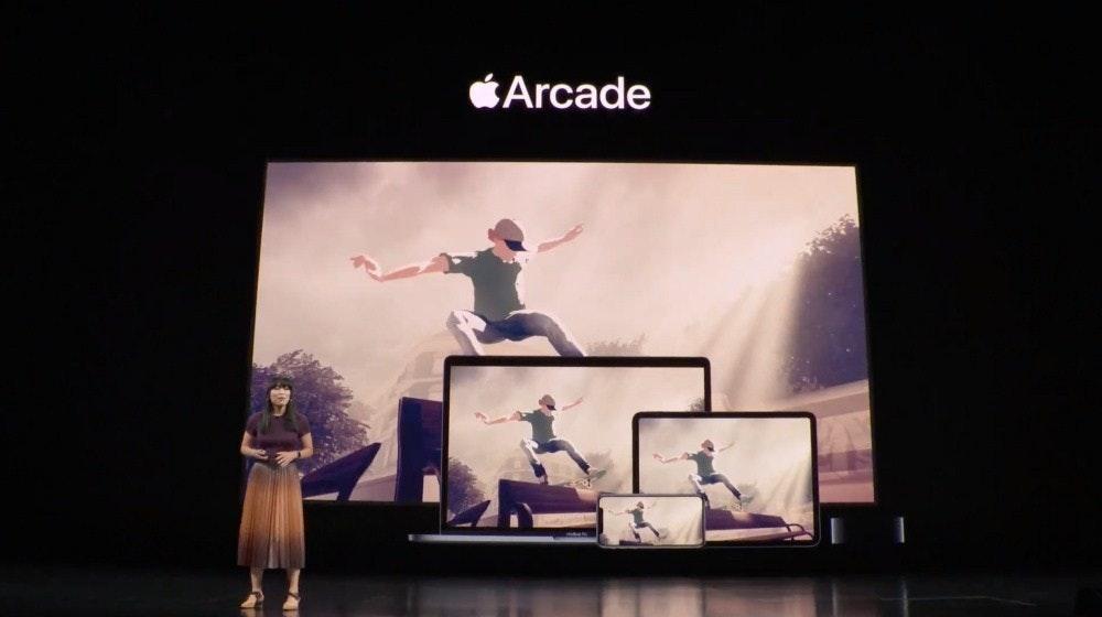 照片中提到了Arcade,跟蘋果公司有關,包含了蘋果商場、蘋果商場、蘋果、的iOS、Sayonara狂野之心