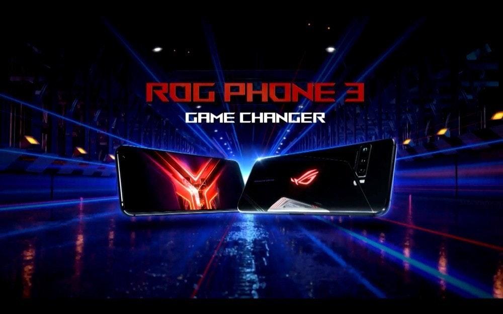 照片中提到了ROG PHONEA、GAME CHANGER,跟華碩有關,包含了階段、華碩、ROG電話、金魚草865