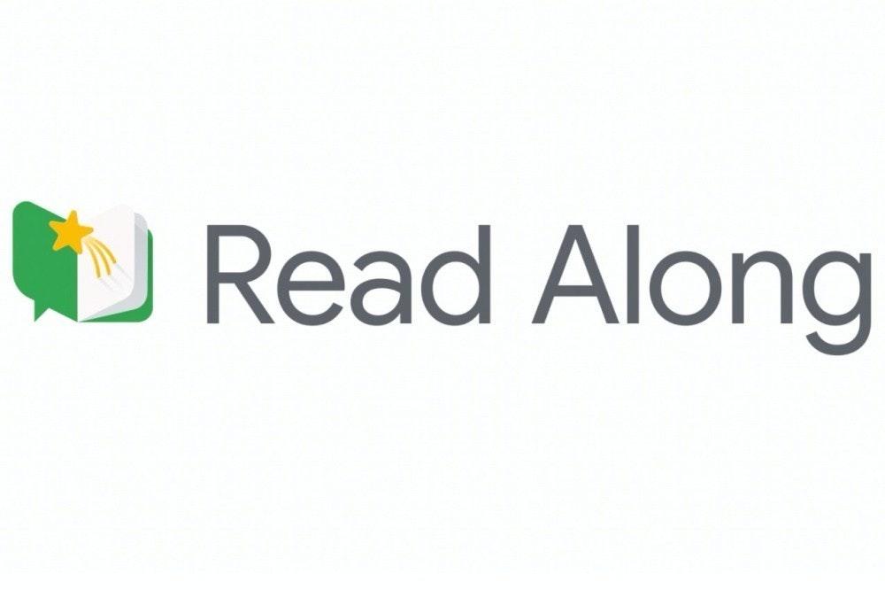 照片中提到了Read Along,包含了圖形、商標、產品設計、牌、學習