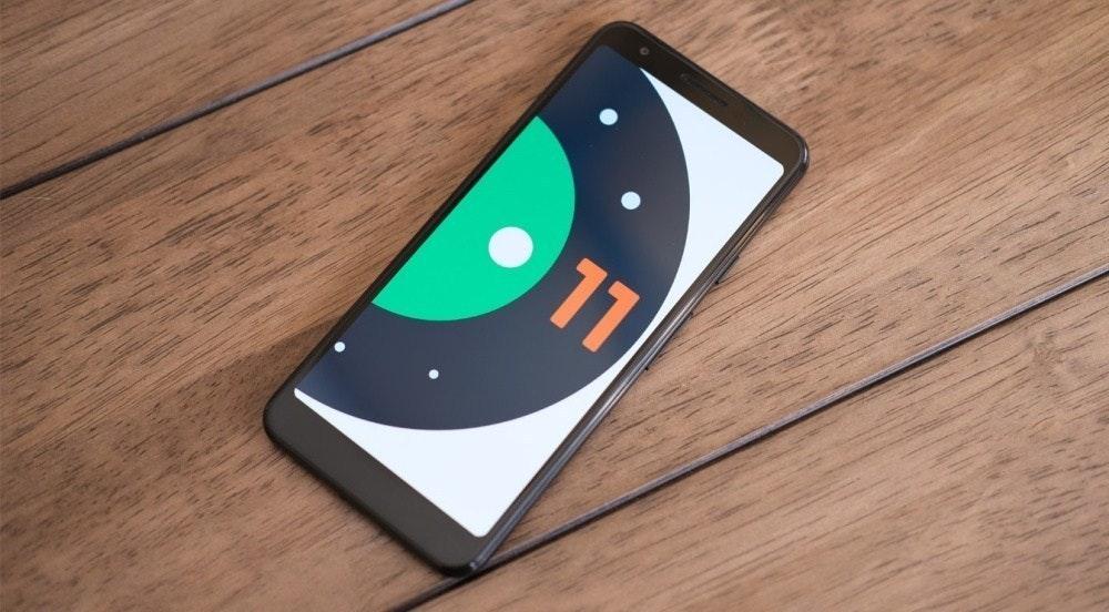照片中提到了11,跟克雷多銀行有關,包含了Android 11開發人員預覽、像素3a、安卓系統、Android 11、像素點