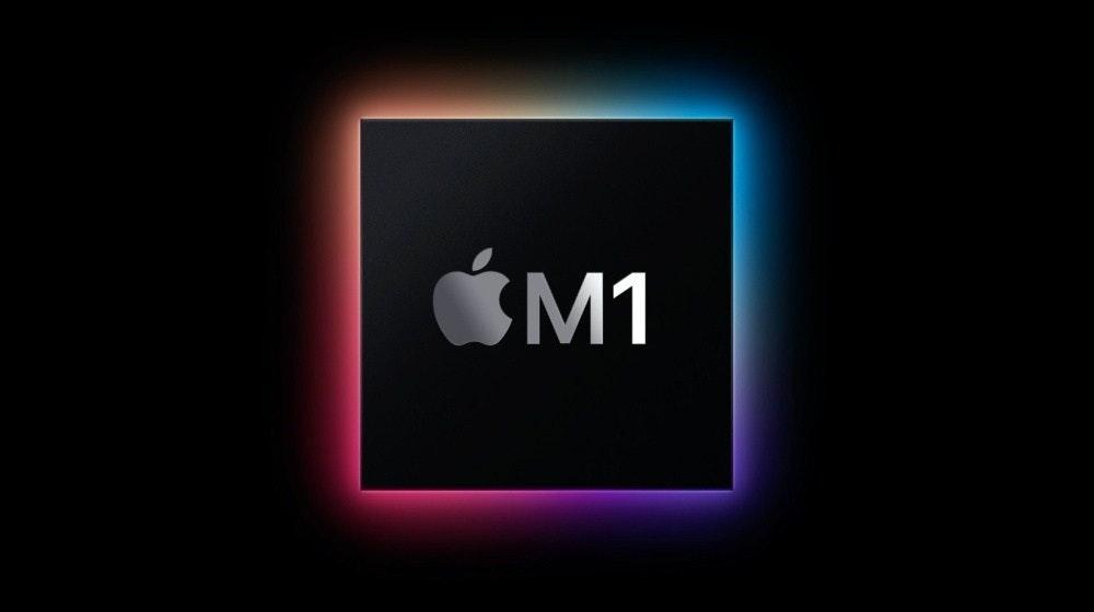 照片中提到了M1,跟蘋果公司。、的MacBook有關,包含了cpu m1蘋果、蘋果M1、中央處理器、多核處理器