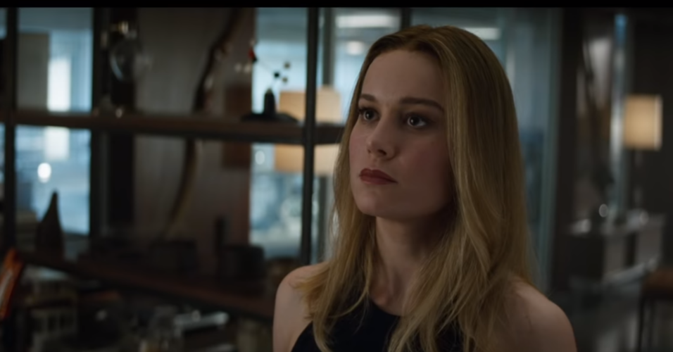 Avengers: Endgame, Brie Larson, Carol Danvers, Captain America, The Avengers, Thor, Marvel Cinematic Universe, Film, Superhero, Captain Marvel, avengers endgame captain marvel, Hair, Face, Blond, Facial expression, Lip, Hairstyle, Eyebrow, Beauty, Lady, Long hair