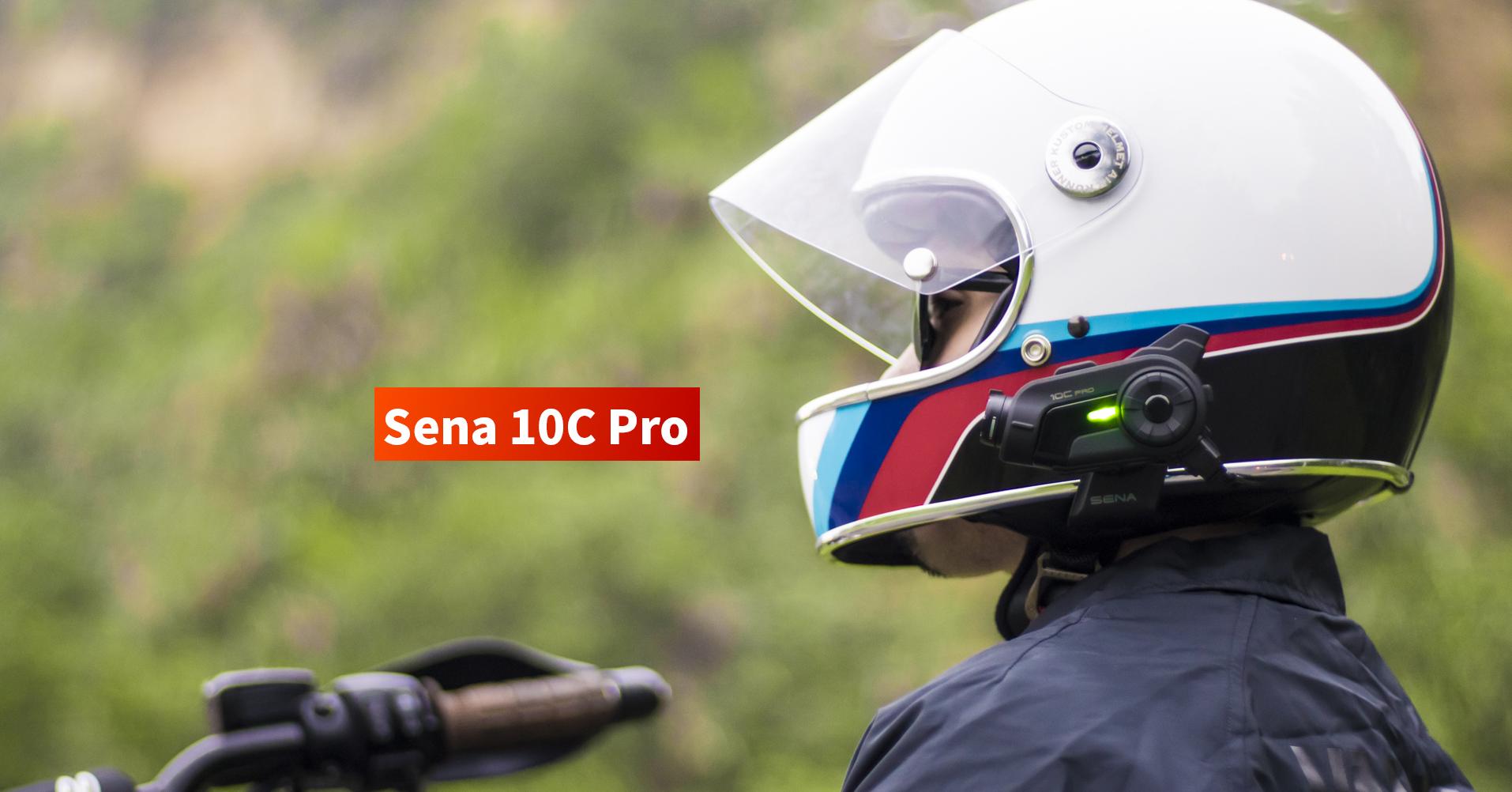 SENA 10C Pro 騎士馳騁最佳配件,完美整合錄影、藍牙通訊的跨世代武器