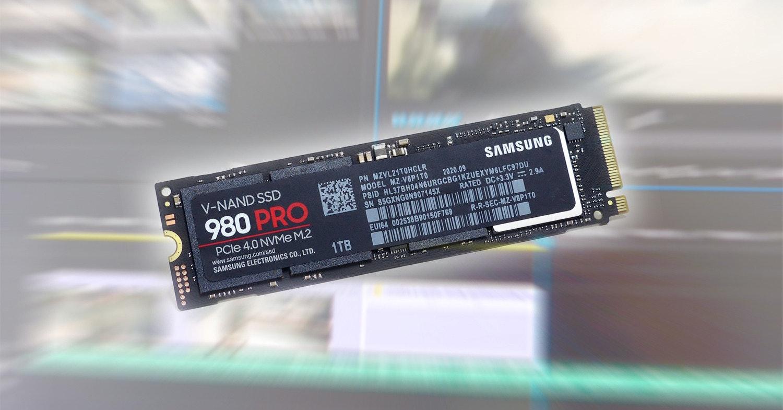 PCIe Gen4 新王者:Samsung 980 PRO SSD 1TB,狂野飆速 7000 MB/s