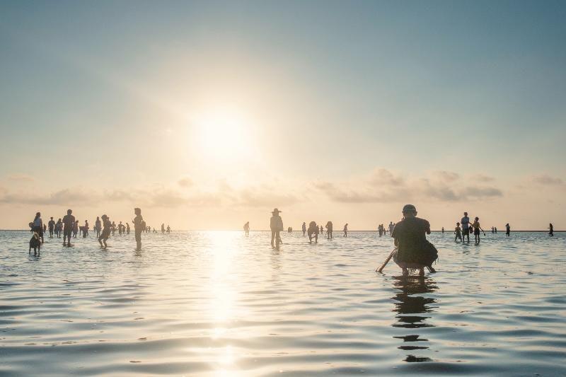 , Shore, Ocean, Mudflat, Beach, Vacation, Sand, Coast, Sea, Leisure, sea, sea, body of water, horizon, water, sky, ocean, wave, shore, beach, reflection