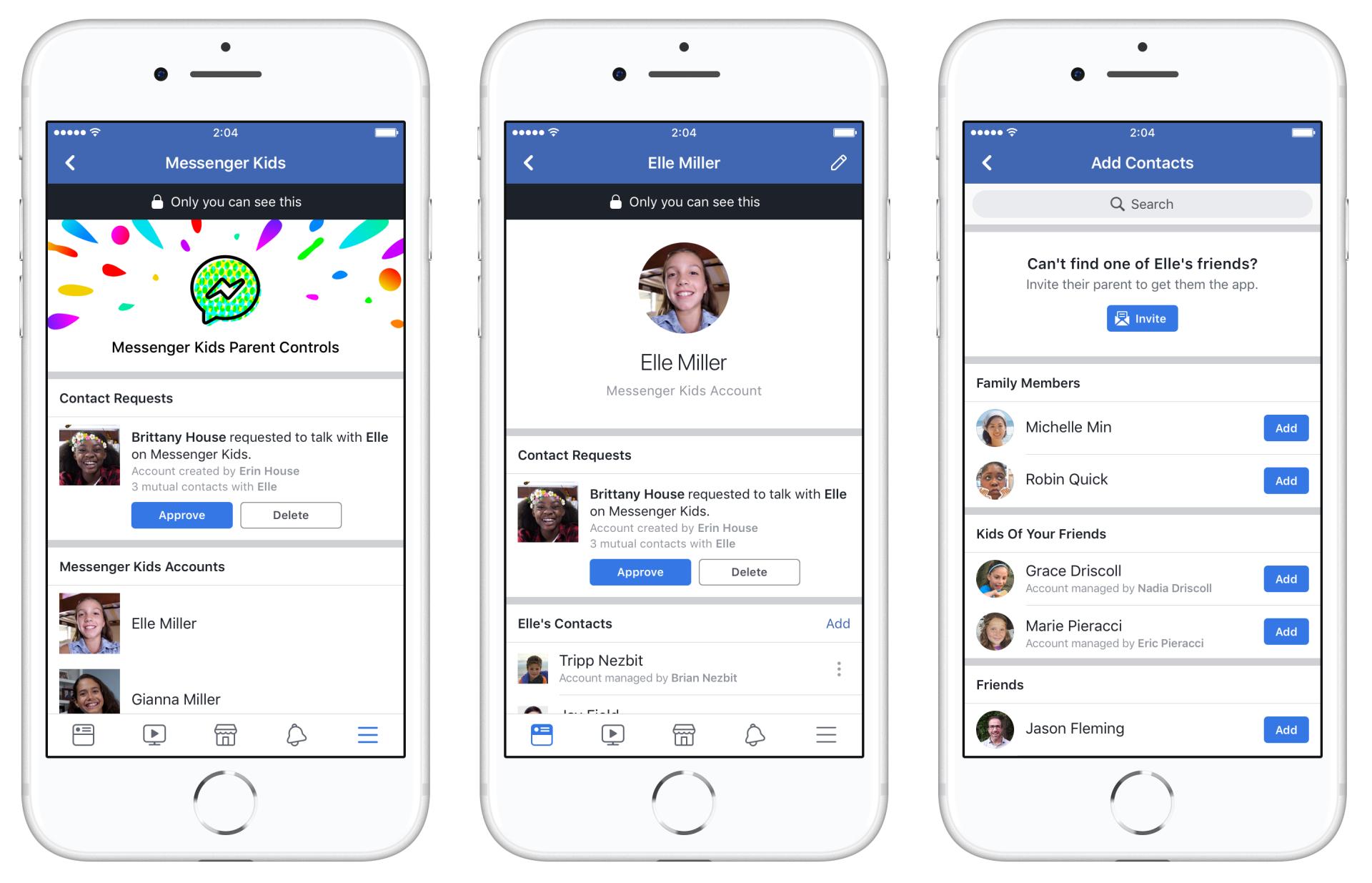 是Facebook 在美國推出 Messenger Kids 預覽版,讓家長能控管小朋友的網路聊天對象這篇文章的首圖