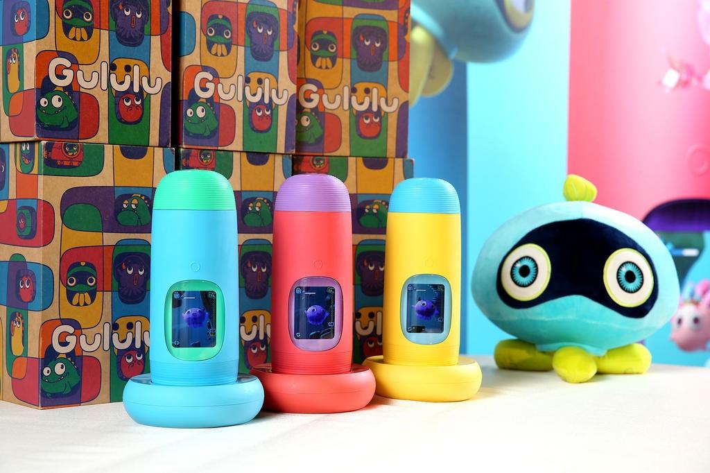 是不用拜託小孩喝水了!結合電子寵物 Gululu水精靈兒童智能水壺3D版登台上市這篇文章的首圖