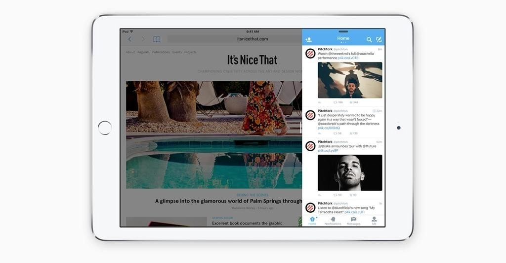 是[蘋科技] 毫無疑問的抄襲!iOS 9 新增雙視窗功能,真正實踐「多工運作」這篇文章的首圖