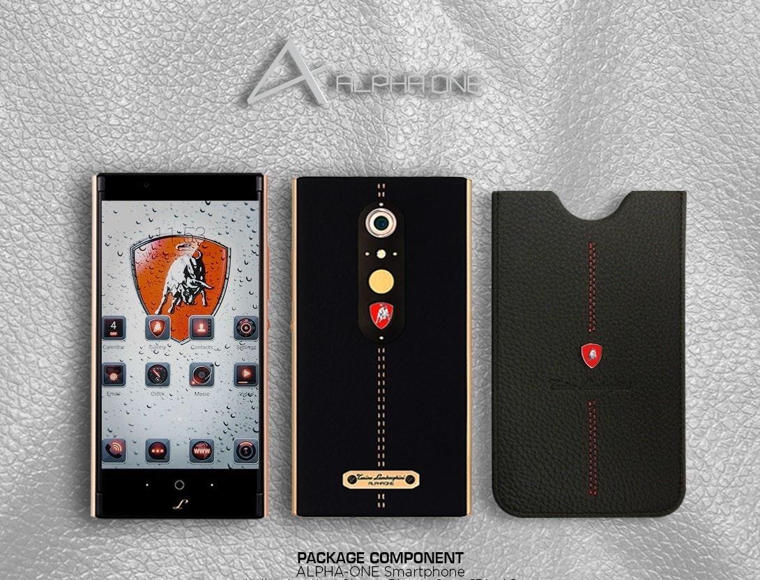 是Lamborghini 推出炫富手機 Alpha 1 ,但實在是看不出在貴幾點的...這篇文章的首圖