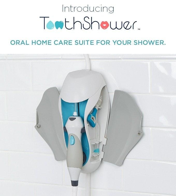 是洗澡同時完成口腔護理的洗牙機這篇文章的首圖