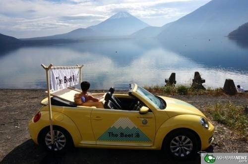 是日本 VW 圓夢計畫之行動湯車...Beet湯上路~這篇文章的首圖