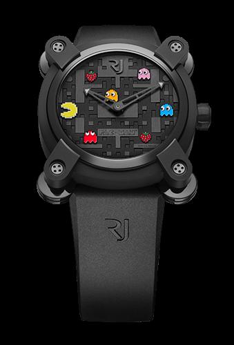 是經典街機遊戲小精靈的特製高級腕錶這篇文章的首圖