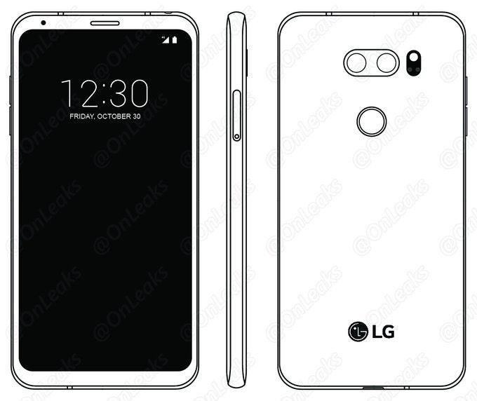 是LG V30 使用者手冊圖像流出,確認採用超寬比螢幕且招牌第二顯示器消滅這篇文章的首圖