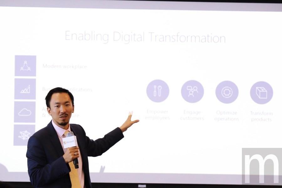 是強化在地發展機會 台灣微軟行銷營運長闡述數位轉型必要性這篇文章的首圖