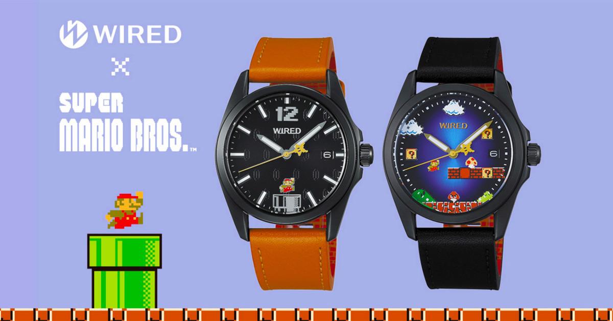 是任天堂與WIRED合作 推出限量款超級瑪利歐主題8位元圖像紀念手錶 這篇文章的首圖