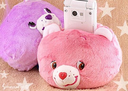 是這是貨真價實灰熊口愛的手機座這篇文章的首圖