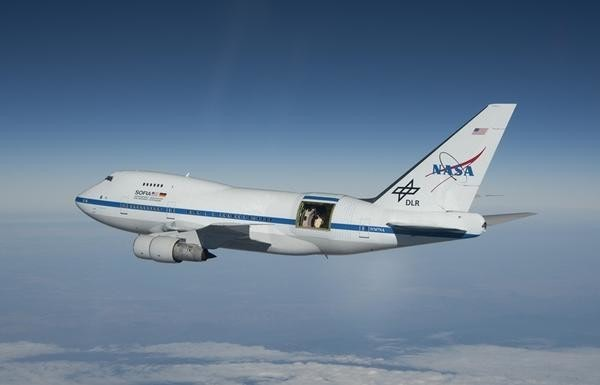 NASA將波音747SP改成全球最大40000尺高空天文台SOFIA