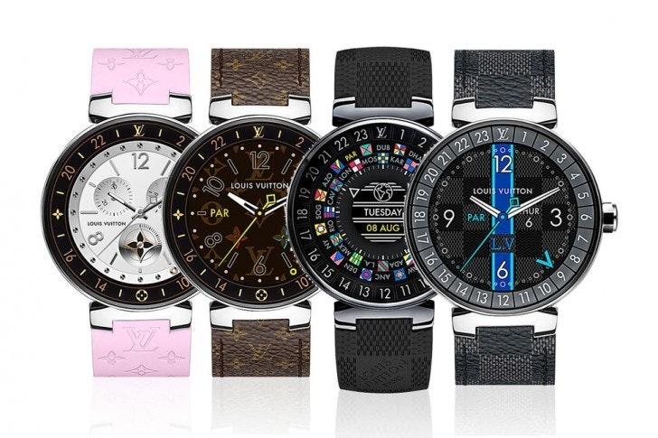 是Android Wear 奢侈智慧錶又一參戰者, LV 推出要價 2,450 美金的 Tambour Horizon這篇文章的首圖