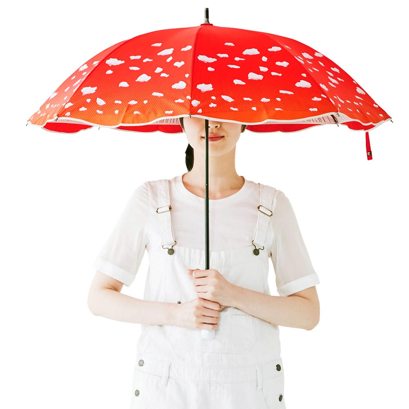 看到就忘了炎熱的趣味毒蘑菇傘