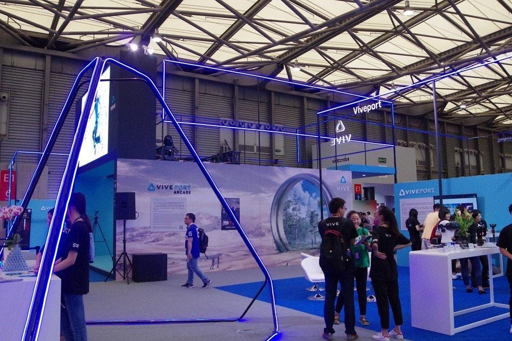 是HTC 在上海 MWC 體驗館展示 VIVE 多元應用,從娛樂、技職教育到婚禮體驗一應俱全這篇文章的首圖