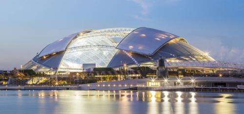 新加坡打造全世界跨距最大的開頂式多功能巨蛋體育場