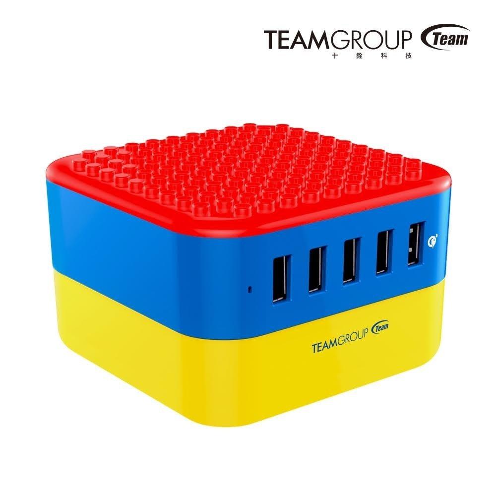 是積木玩家照過來,十銓科技推出方塊充 5 埠 USB 充電座、其中一埠還支援 QC 3.0這篇文章的首圖