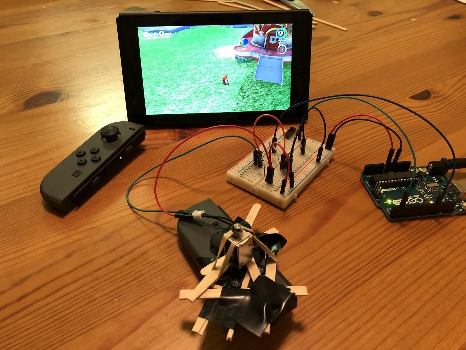 是SWITCH控制器外掛 用Arduino機器人破解瑪利歐奧德賽跳繩比賽這篇文章的首圖