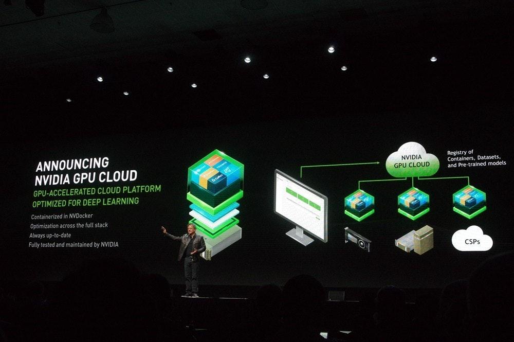 是NVIDIA GPU Cloud 加入 NVIDIA TensorRT 推論加速器等新功能,且開放給桌上型 GTX TITAN 使用這篇文章的首圖