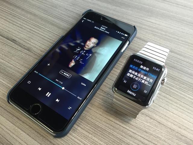 是KKBOX 躍上 Apple Watch ,不只可選曲播放還可觀看動態歌詞這篇文章的首圖