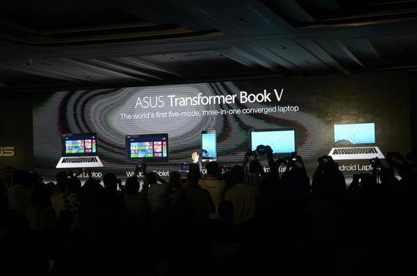 是Computex 2014:終極變形!華碩 Transformer Book V通吃登場,可以當手機,可以當平板又可以當筆電,超級五合一應用這篇文章的首圖