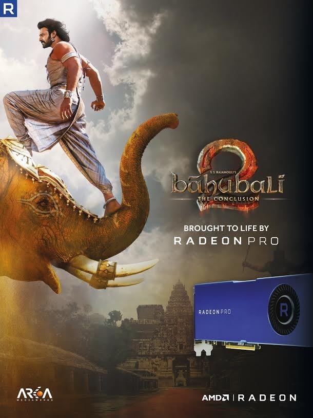 是AMD Radeon Pro 為印度史詩電影巴霍巴利王:磅礡終章挹注魔幻特效這篇文章的首圖
