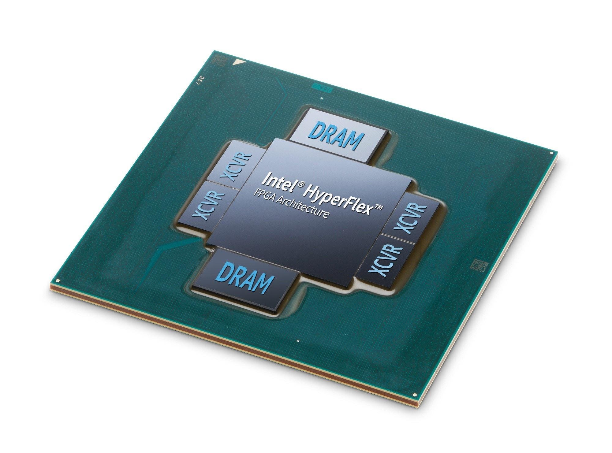 是Intel 推出整合 HBM2 的 FPGA 加速器 Stratix 10 MX FPGA ,為硬體加速而生這篇文章的首圖