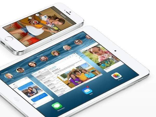 是傳 iOS 8 將具備分割畫面多工模式,還有各種比例...這篇文章的首圖