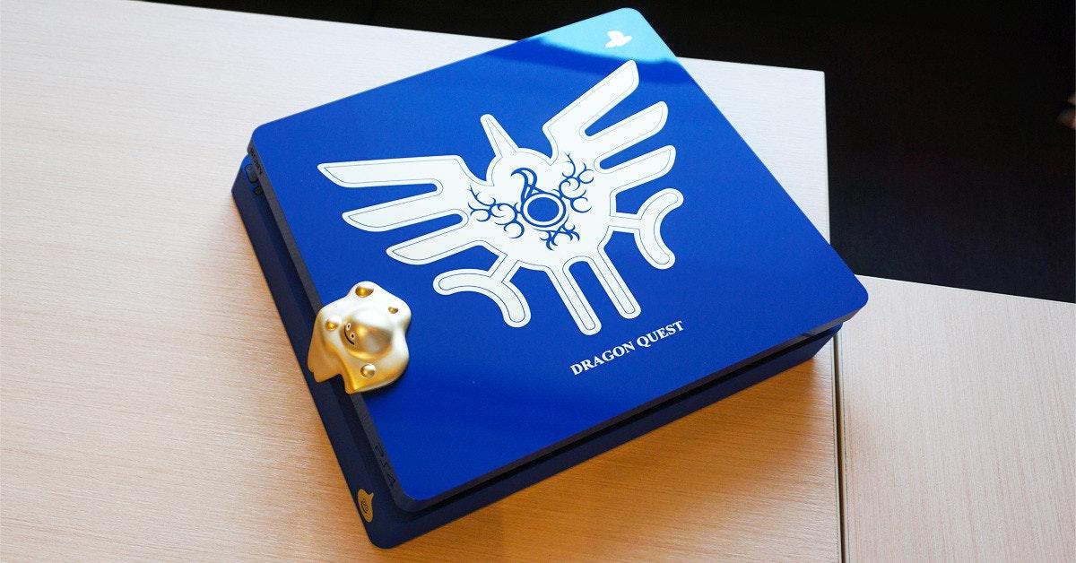 是PS4勇者鬥惡龍羅德版遊戲同捆主機 簡單開箱動手玩這篇文章的首圖